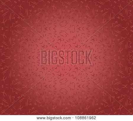 Seamless Red Vintage Pattern