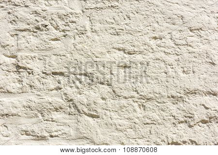 Old White Plaster Paint Wall Background