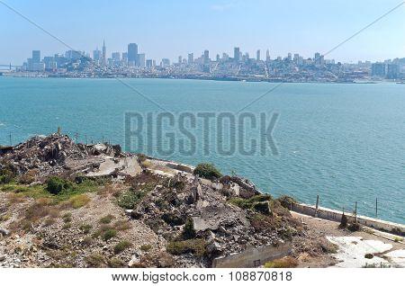 San Francisco Bay And Skyline