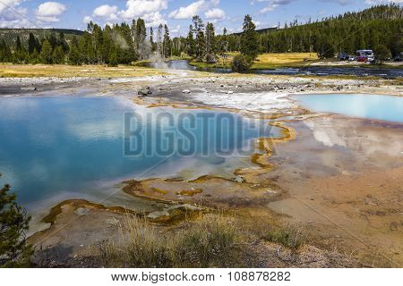 Wonderful pool landscape, Yellowstone