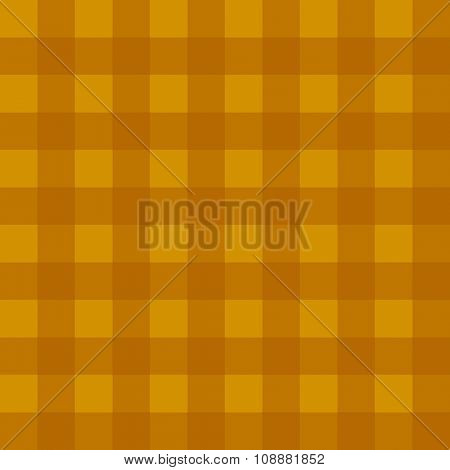 Checker pattern in dark golden hues, a seamless background