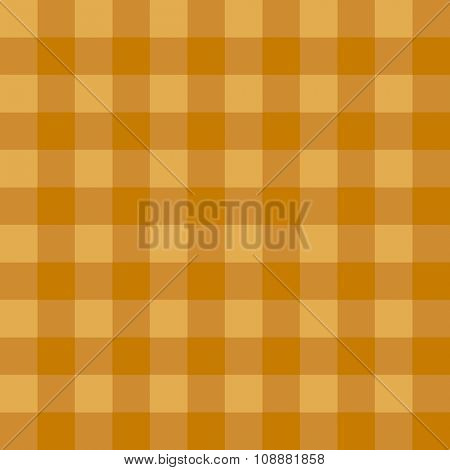 Golden checkered seamless pattern