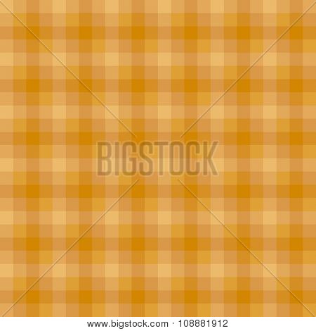 Rich gold checkered seamless pattern
