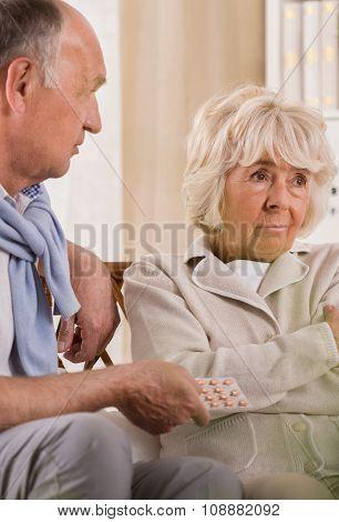 Wife Refusing To Take Medicine