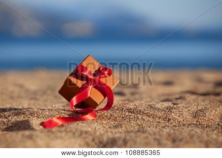 Terracotta Color Gift Box Ona Beach