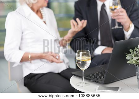 Business Meeting In The Ofice