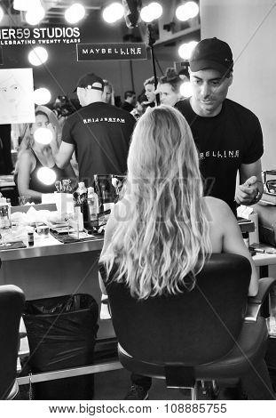 Custo Barcelona - Backstage - Spring 2016 Collection