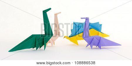 Origami Jurassic Dinosaurs