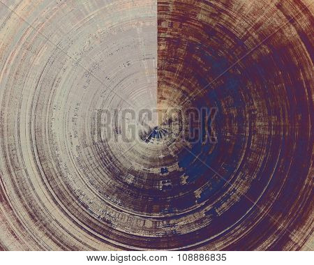 Cracks and stains on a vintage textured background. With different color patterns: brown; purple (violet); blue; gray