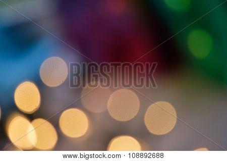 Fun Bokeh Lights Background