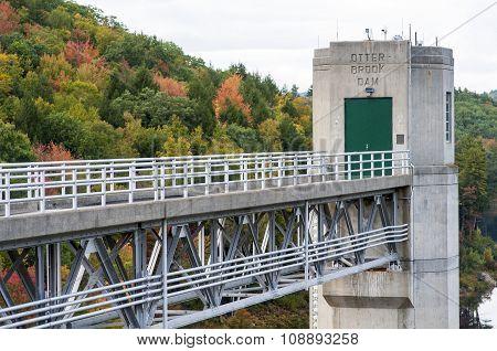 Autumn At Otter Brook Dam