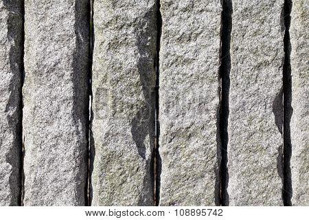 granite stone wall