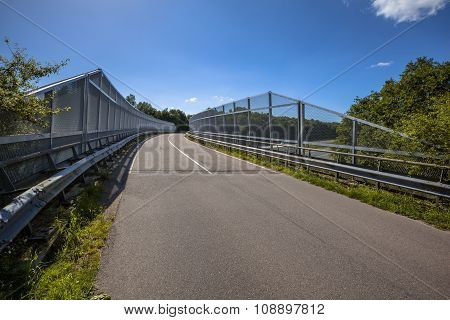 Bridge With Fence
