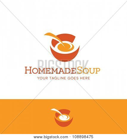 abstract bowl for food or nutrition related business, website