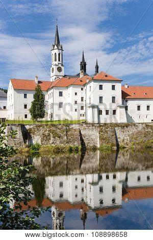 Vyssi Brod cloister, Bohemia, Czech republic