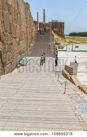 Entrance stairs of Persepolis