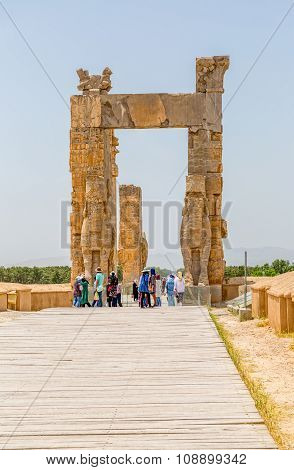 Persepolis gate of nations