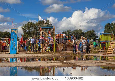 Hut Building Festival