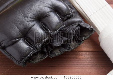 Leather Gloves For Fighting Without Rules
