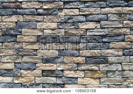 rustic rock wall