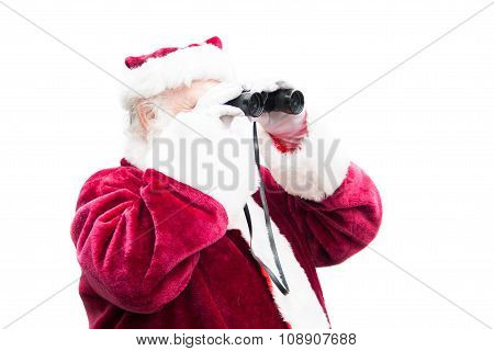 Santa Searches For A Deal