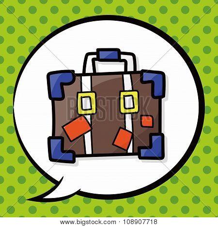 Briefcase Color Doodle