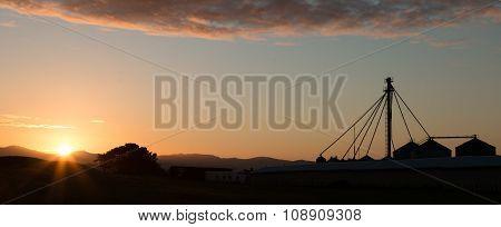 Sunrise Silos