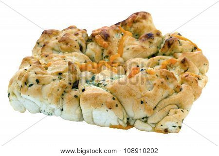Tear And Share Bread With Cheese And Garlic