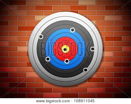 Target Brick Wall
