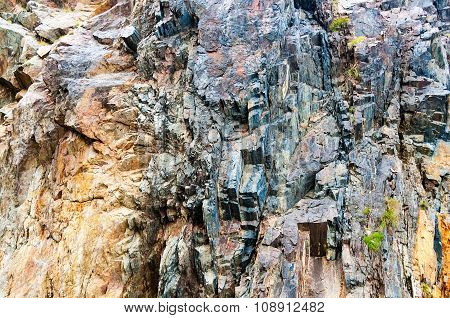 Rocky cliff face