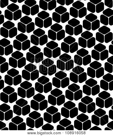 Vector modern seamless geometry pattern simple black and white abstract