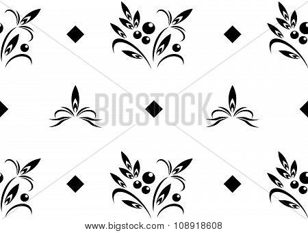 background flowers.