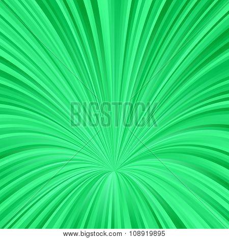 Green abstract vortex design background