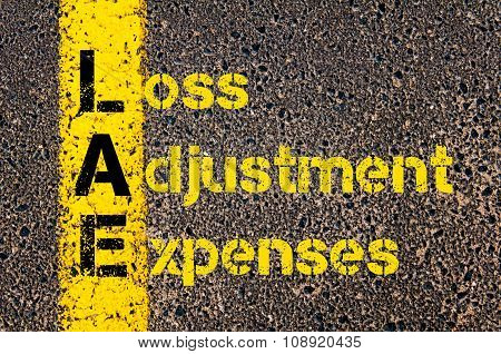 Business Acronym Lae As Loss Adjustment Expenses