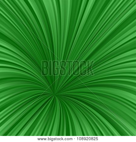Green asymmetrical vortex design background