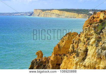Ponta Da Piedade spectacular rock formations Camels head