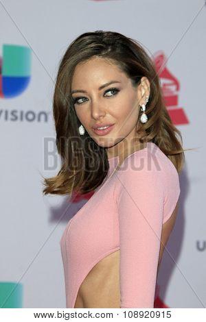 LAS VEGAS - NOV 19:  Patricia Zavala at the 16th Latin GRAMMY Awards at the MGM Grand Garden Arena on November 19, 2015 in Las Vegas, NV