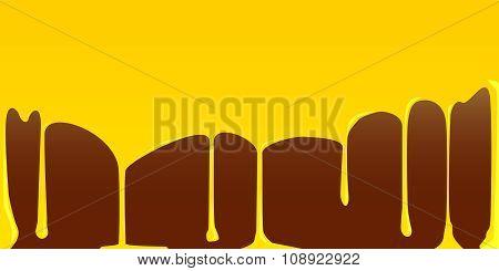 Custard And Chocolate Pudding