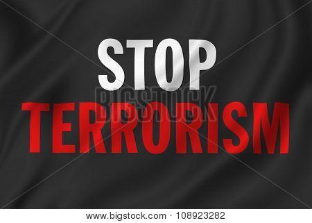 Stop Terrorism Banner