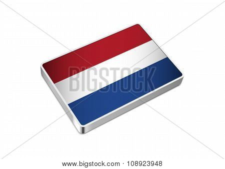 Flag of Nederland