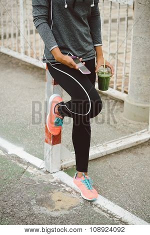 Urban Fitness Sport And Healthy Lifestyle Concept