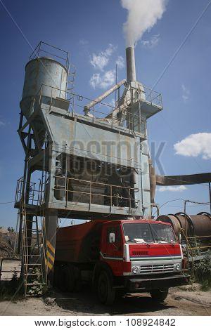Asphalt Plant In Ukraine