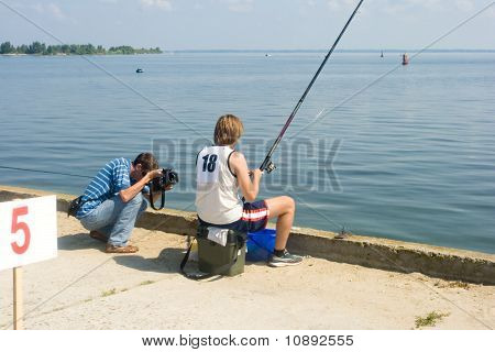 Operator And Fisherman