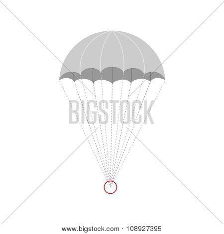 Vector Parachute Illustration