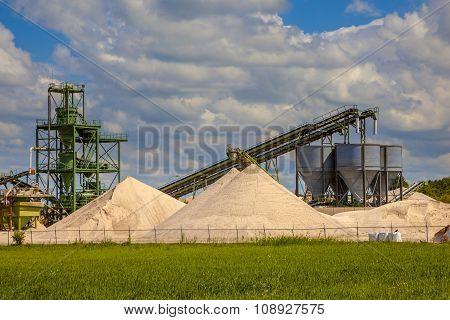 Sand Mining Station