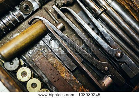 Rusty Vintage Tools
