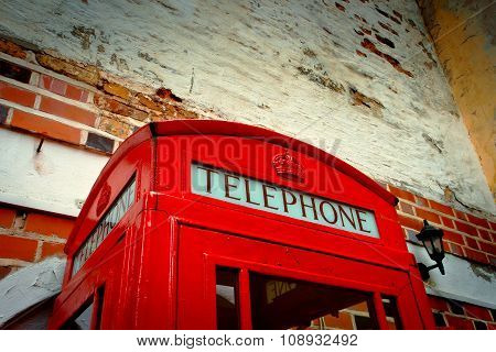 Red Call-box By Cu