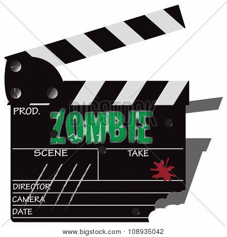 Zombie Clapper Board Bullets