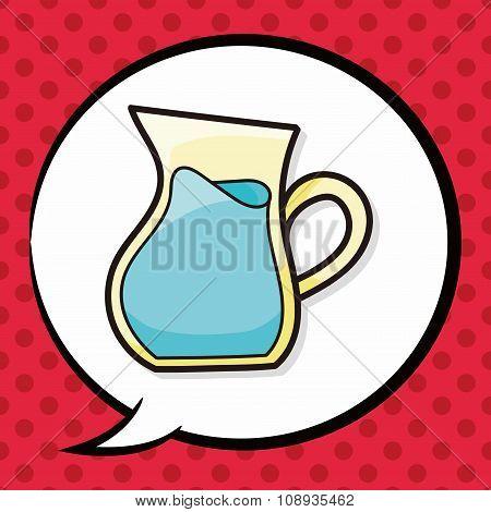 Tea Pot Color Doodle