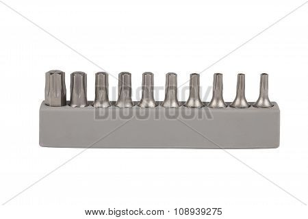 Kit Bit For Screwdrivers